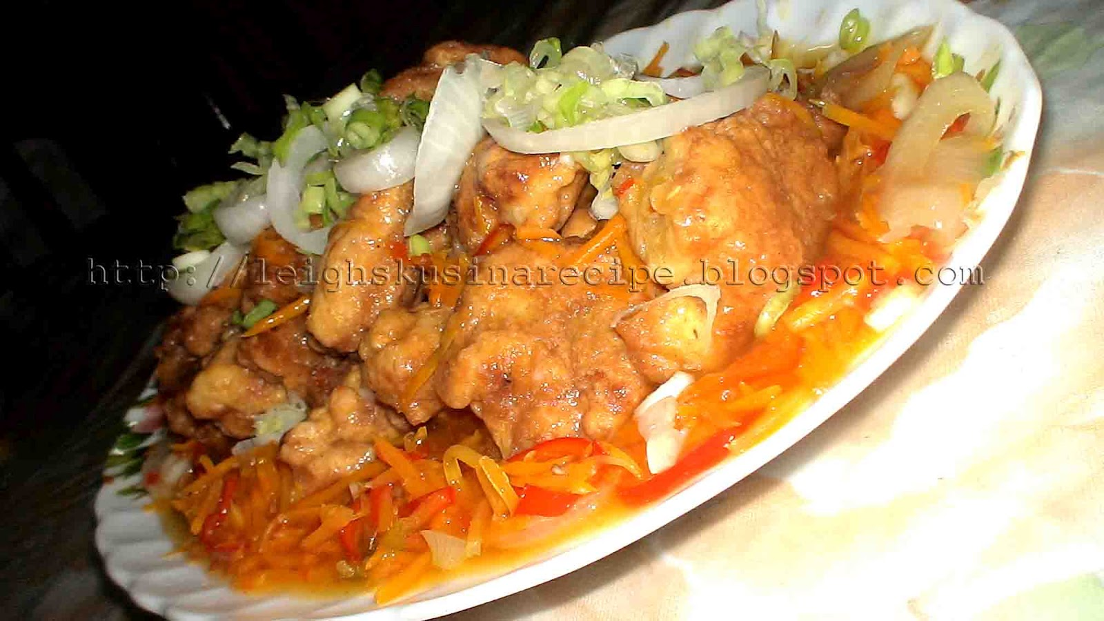 Escabeche the pinoy fish fillet leigh 39 s kusina recipe for Filipino fish recipes