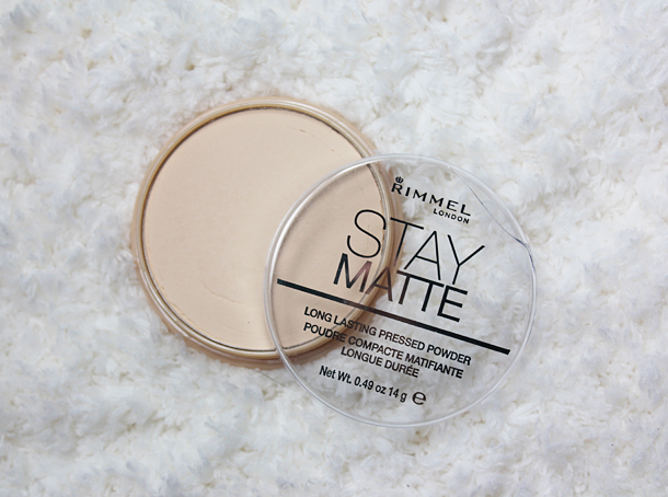 rimmel stay matte powder transparent review