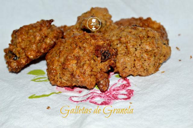 galletas de granola