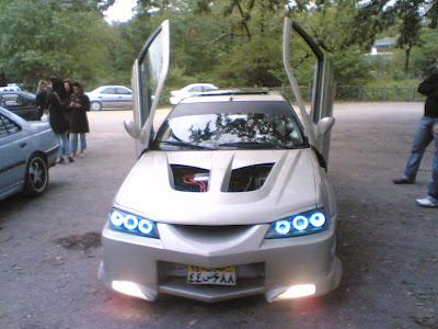 modifikasi Mobil sedan