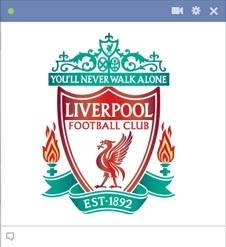 FC Liverpool Facebook Emoticon