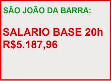 SALÁRIO BASE SÃO JOÃO DA BARRA