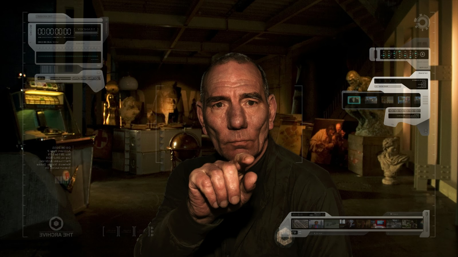 Peter Postlethwaite in 'The Age of Stupid'