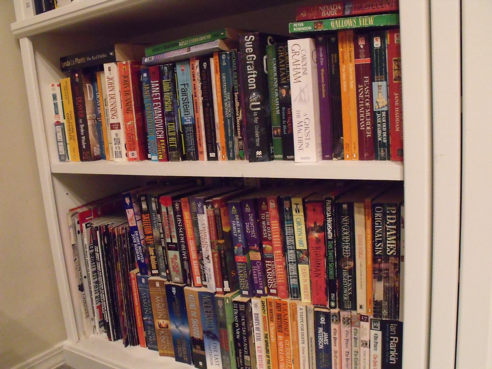 Superb img of BOOKS BOOKS BOOKS : Book shelves The Den with #A15D2A color and 1600x1200 pixels