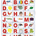 Alfabeto Ilustrado para Imprimir
