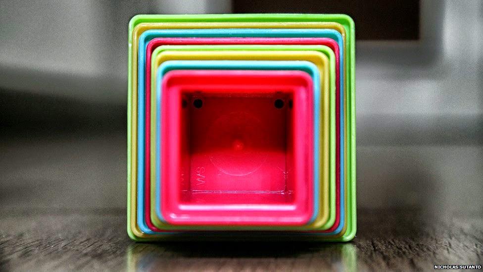 Фото квадратного ламината