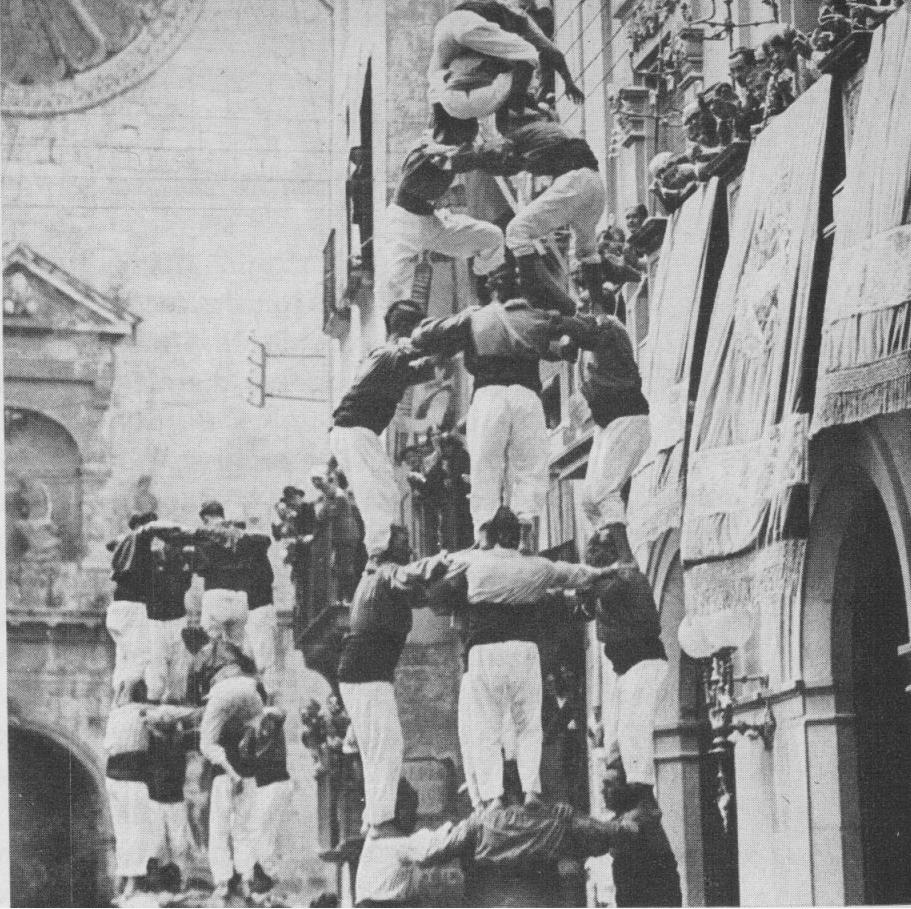 Acto de Reinauguración de las Cuatro Columnas de Montjuïc St%2Bjoan%2B1930%2Bb