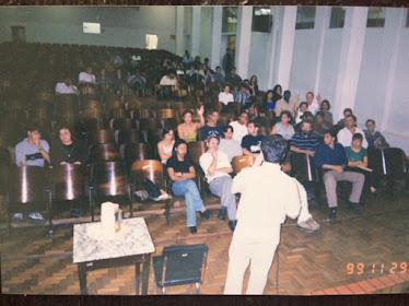 Palestra na UFSJ (Universidade Federal de São João del Rei em 1999)