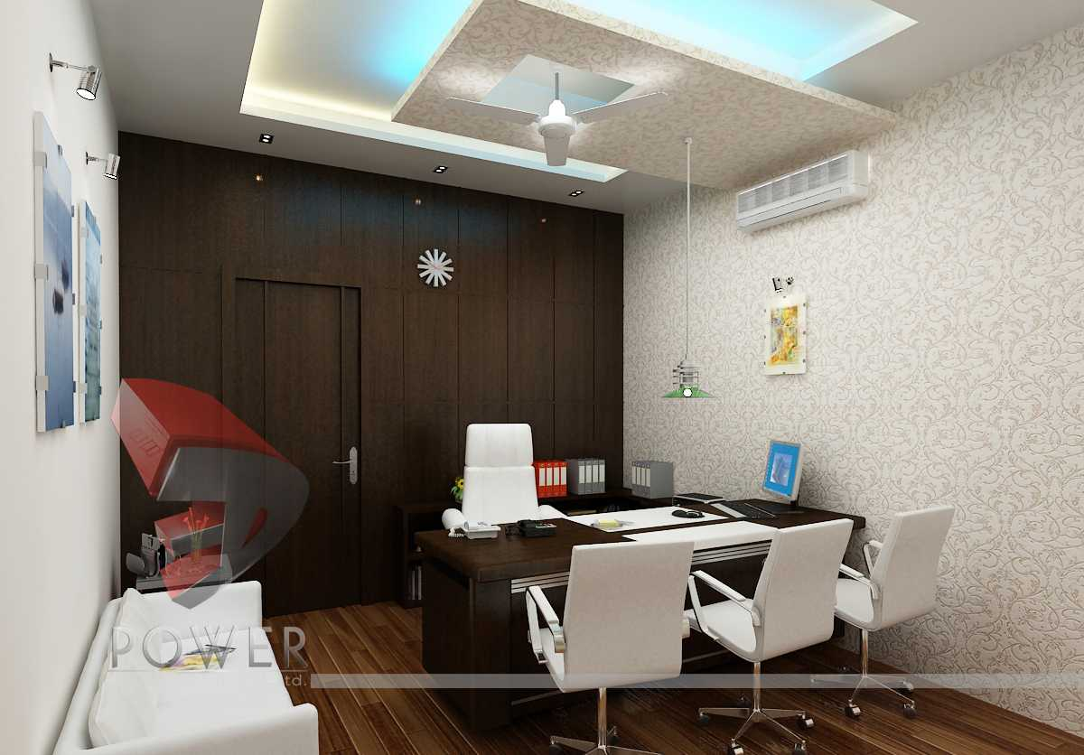 3d commercial office interior. Black Bedroom Furniture Sets. Home Design Ideas