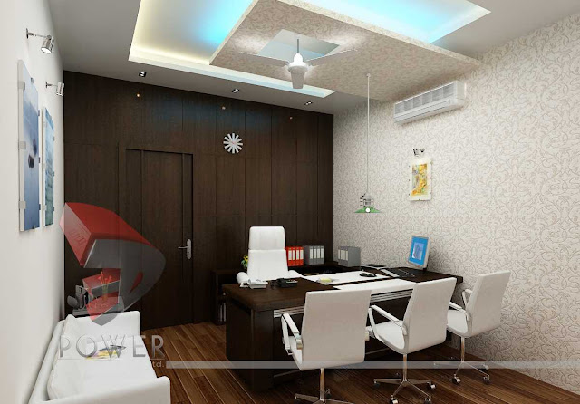3D Commercial Office Interior Design