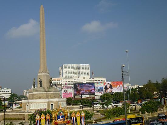 Victory Monument of Bangkok, Thailand