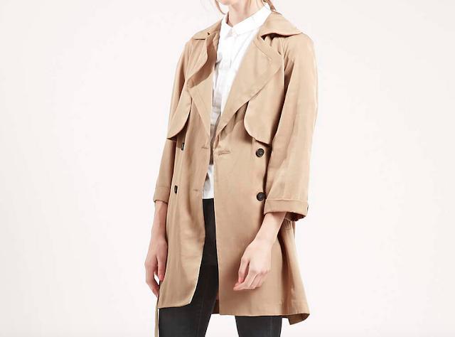 Camel duster coat