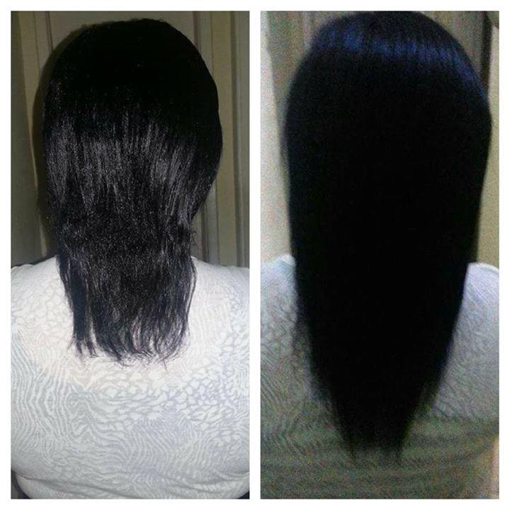 Fotos do cabelo da Ana Débora