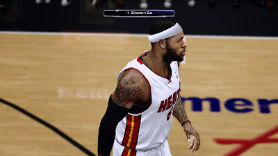 NBA 2K14 LeBron James Next-Gen Face Graphics