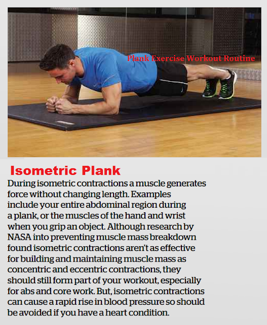 Isometric Plank Exercise