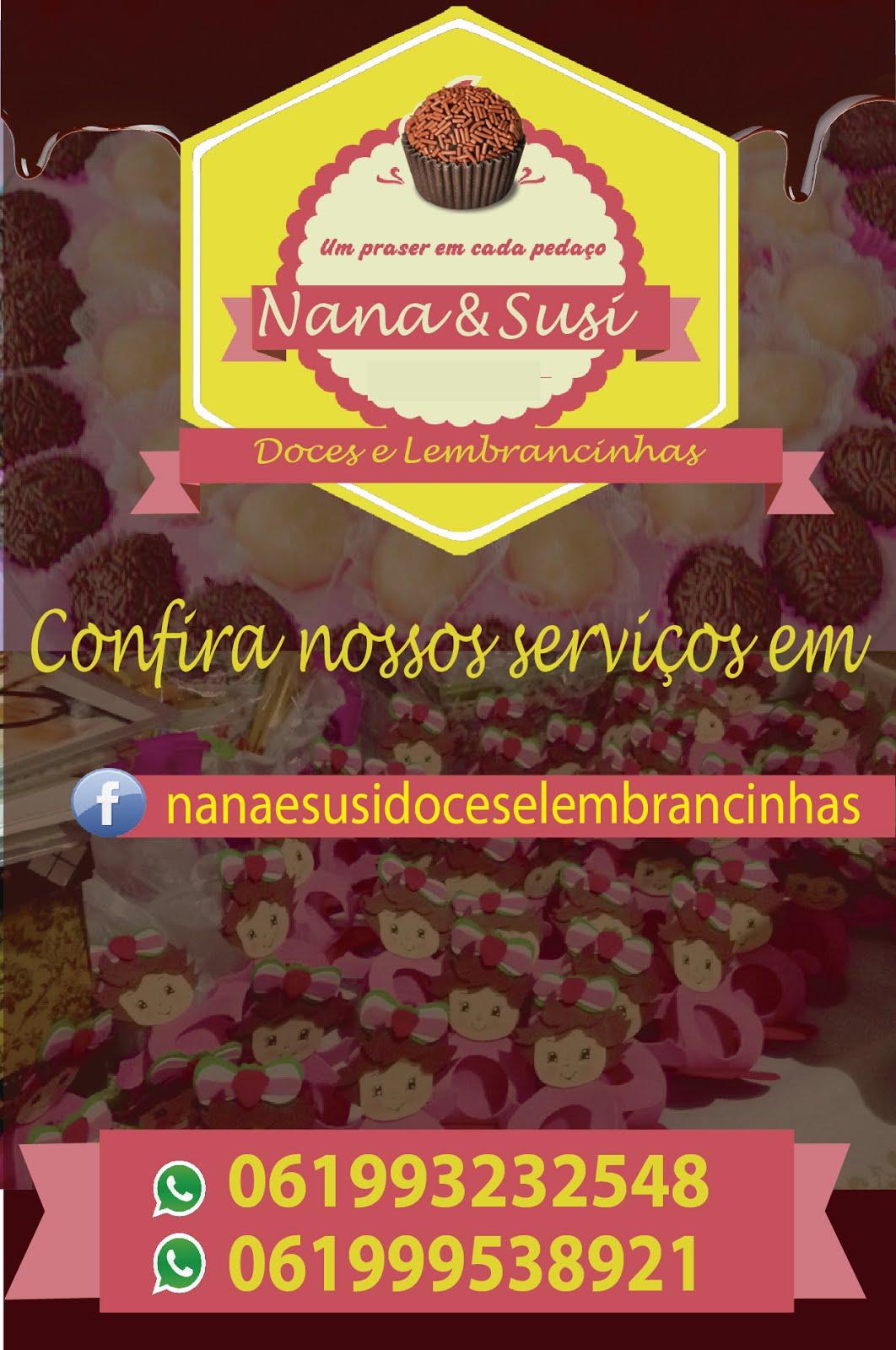 NANA E SUSI DOCES E LEMBRANCINHAS
