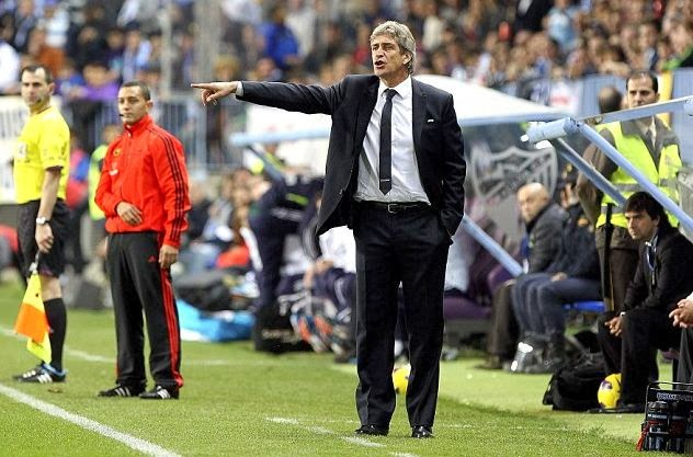 Barcelona vs Manchester City without Manuel Pellegrini