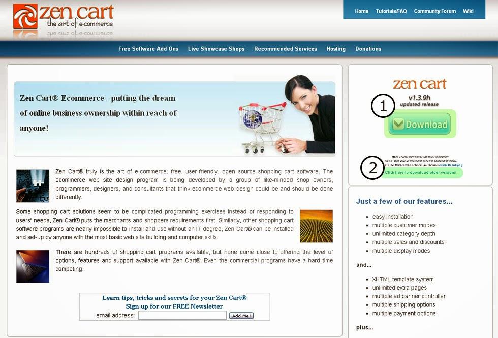 ClickPro Media - Zen Cart Engine Installation