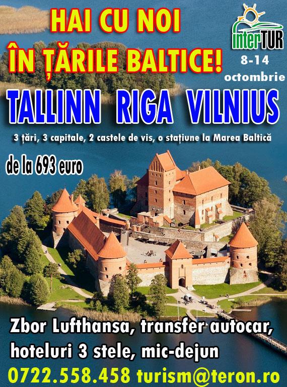 Circuit Ţările Baltice REPROGRAMAT