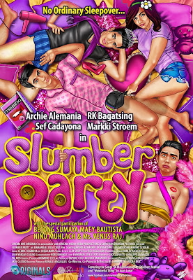 Slumber Party Official Poster