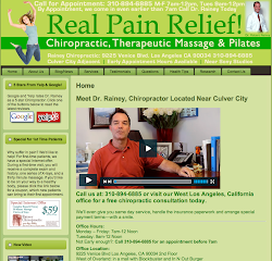 Rainey Chiropractic Website