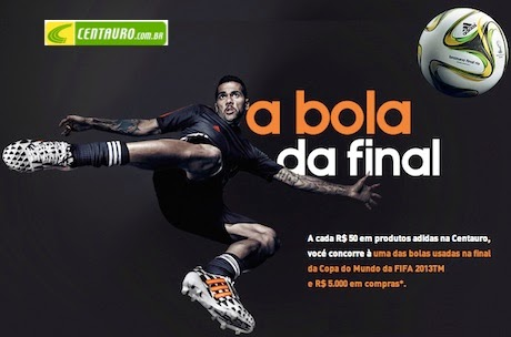 """Promoção Centauro: """"Bola da Final"""""""