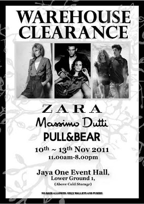 ZARA Warehouse Clearance 2011