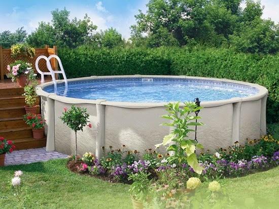 Piscinas lindas y modernas en fotos piscinas prefabricadas for Piscinas elevadas para jardin