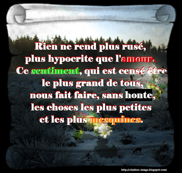 citation sentiments amoureux