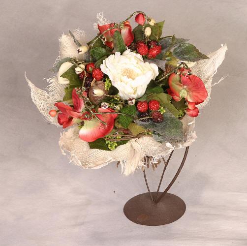 Un bouquet de roses s ch es l 39 art de c ramique for Un bouquet de roses
