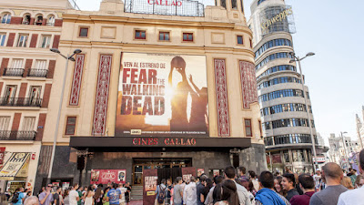 Preestreno de 'Fear the Walking Dead' en Callao, Madrid