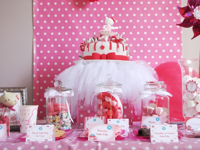Hello Kitty Center Table Decorations Photograph Party