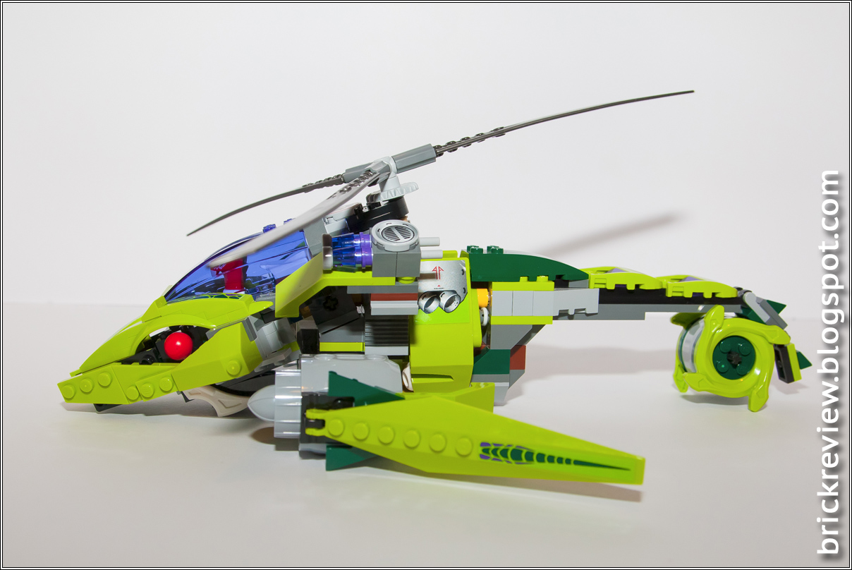 Elicottero A Reazione : Brickreview lego rattlecopter