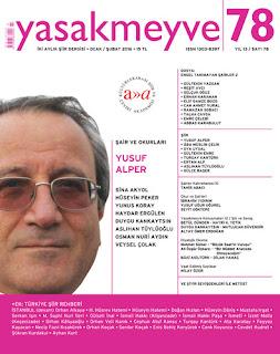Yasakmeyve İki Aylık Şiir Dergisi Sayı: 78 Ocak-Şubat 2016