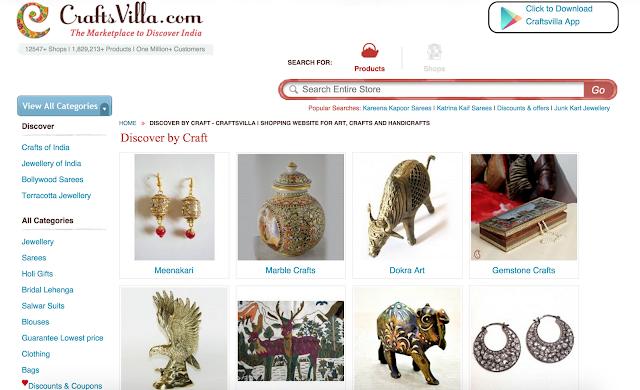 Craftsvilla.com, Tanvii.com, Gift Items