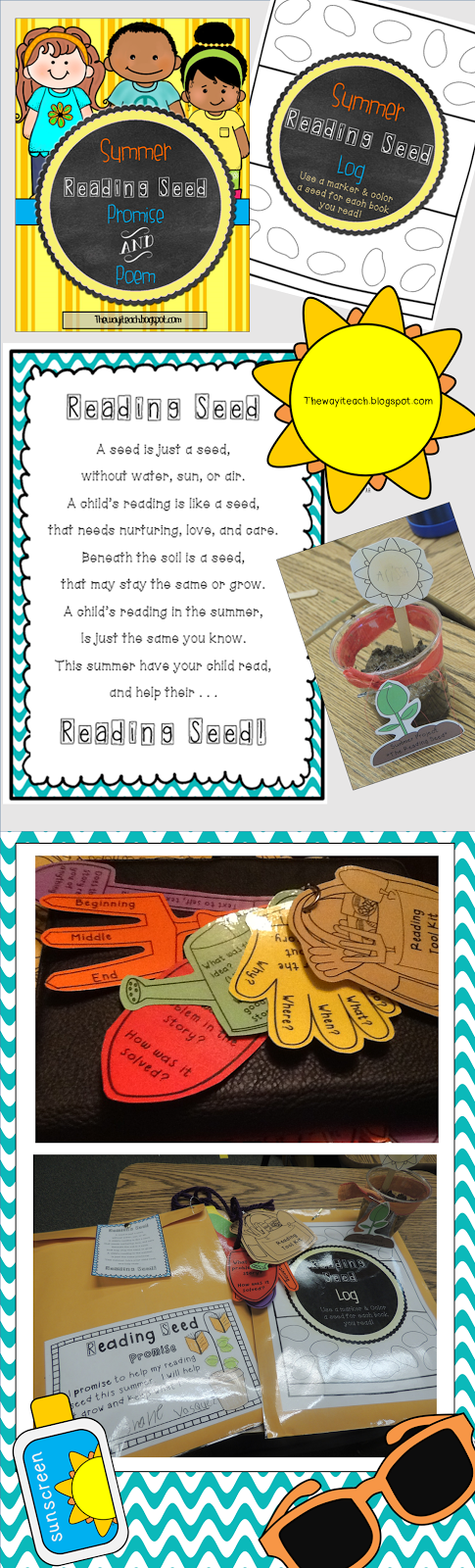 Summer Reading Incentive Motivation 1st Grade