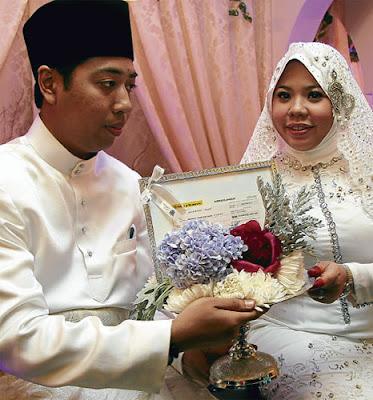 Gambar perkahwinan Erni Dekritawati Yuliana
