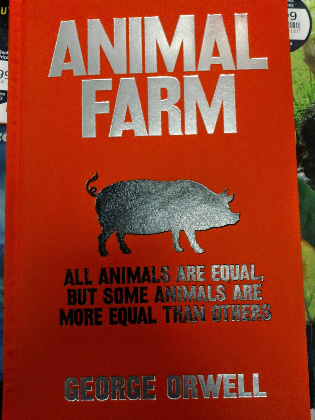 a comparison of the novels 1984 and animal farm The hardcover of the animal farm and 1984 by george orwell  this edition features george orwell's best known novels – 1984 and animal farm – with an.