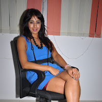 Sanjana at an event