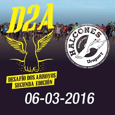 Desafío Dos Arroyos de Halcones (Paso Carrasco a El Pinar, 06/mar/2016)