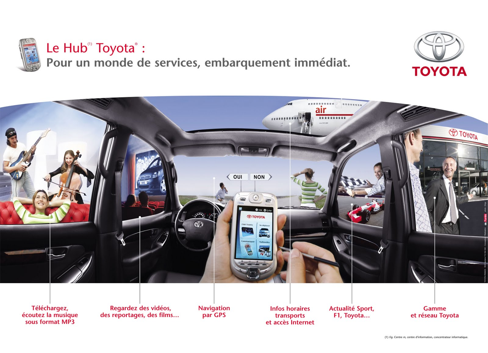 toyota veut d mocratiser le co pilote lectronique sur smartphone seconde partie voiture du. Black Bedroom Furniture Sets. Home Design Ideas