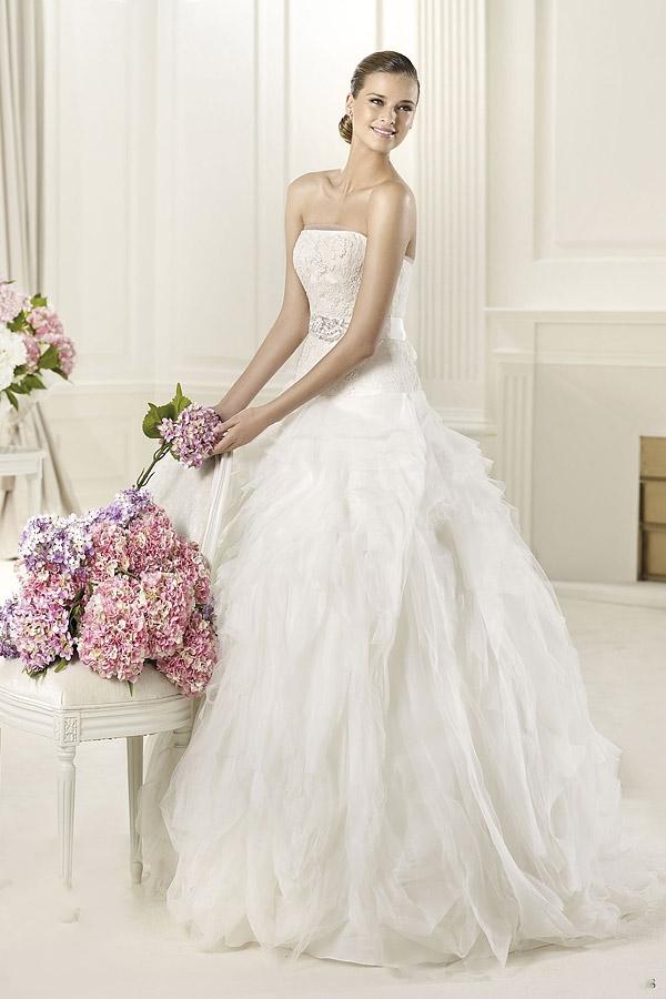 Fashion Apparel 2012 Pronovias Wedding Dresses 2013