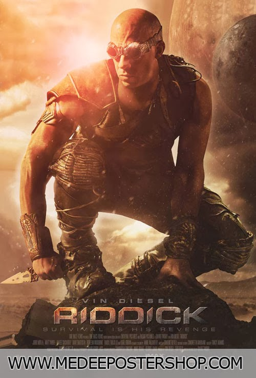 Riddick Survival Is His Revenge Poster