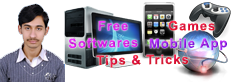 Free Softwares, Games, Mobile App, Tips and Tricks