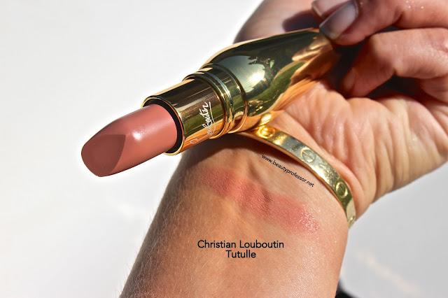 christian louboutin tutulle lipstick swatches