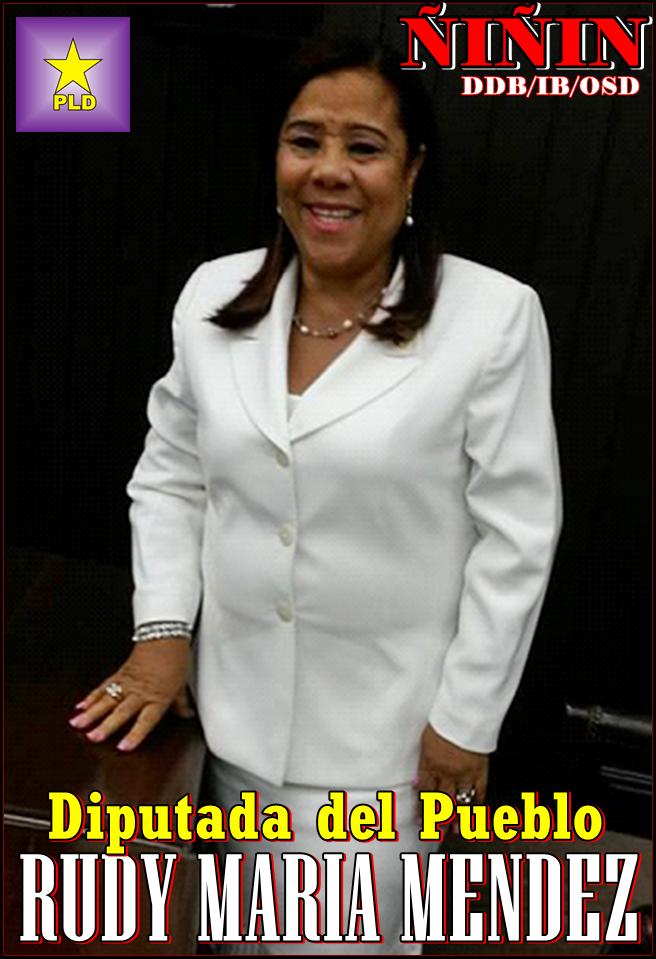 Nuestra Diputada Rudy Mendez