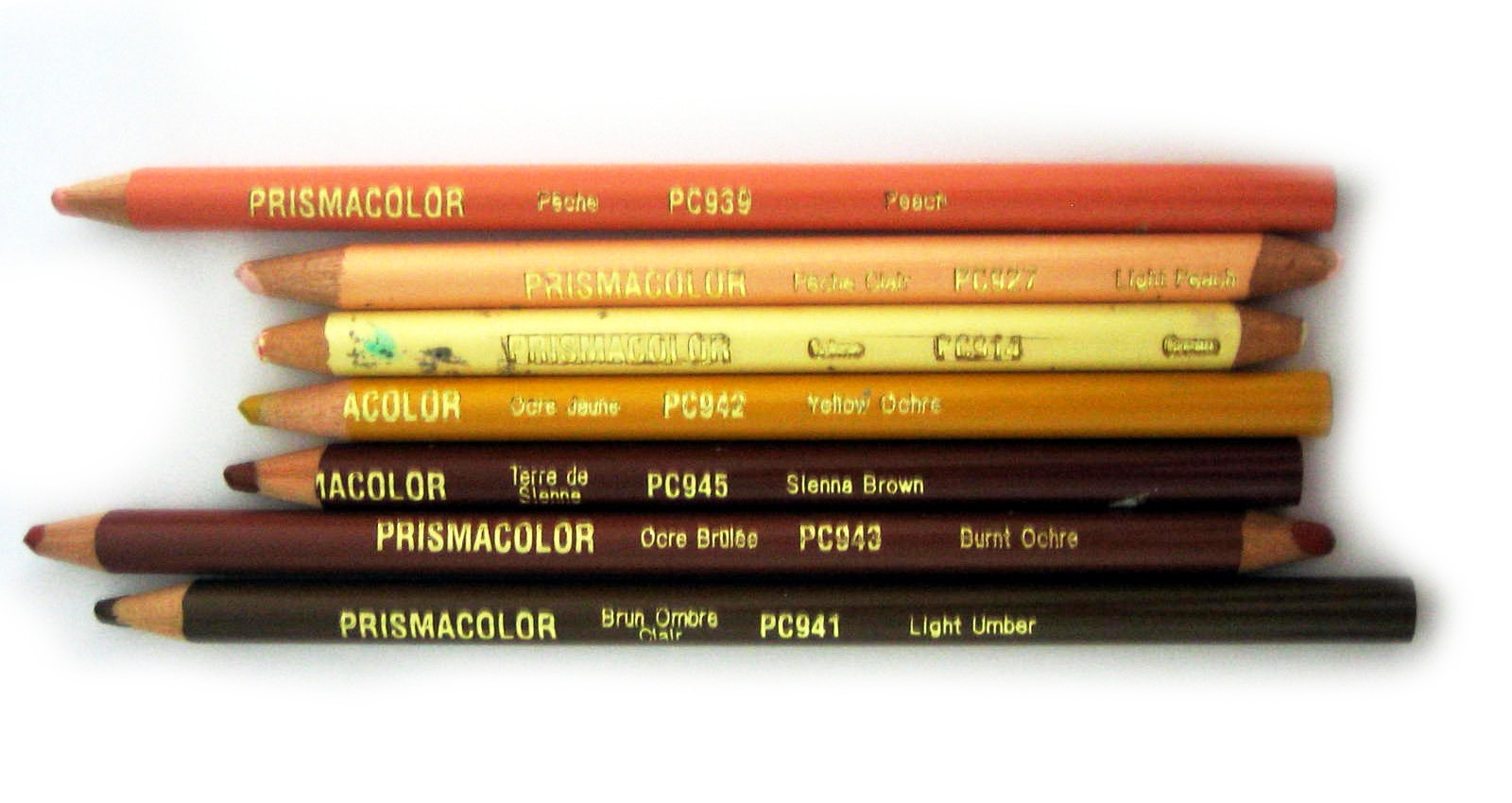 The Factoid Firefly: Color Guide - Skin Toned Pencils