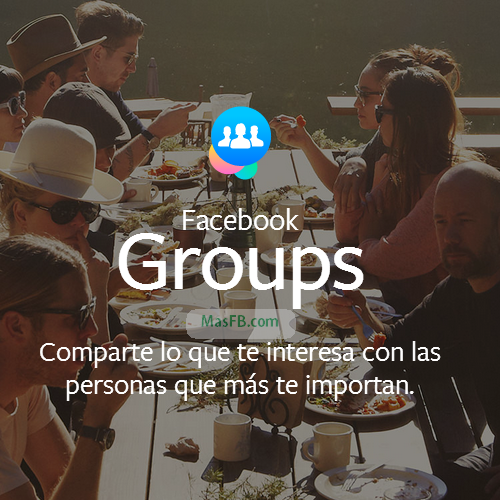 Facebook Groups nueva app movil - MasFB