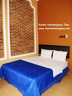 fasilitas kamar hotel escape karimunjawa