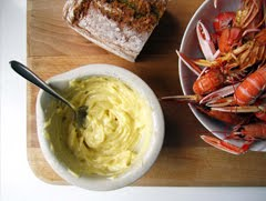 langoustine with homemade mayo